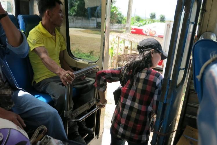 Nordwärts – im Bus nach Chiang Rai